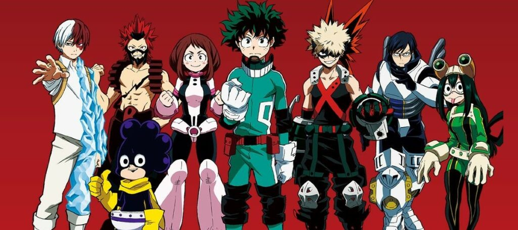 which my hero academia character are you