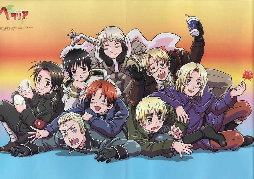 which hetalia character are you