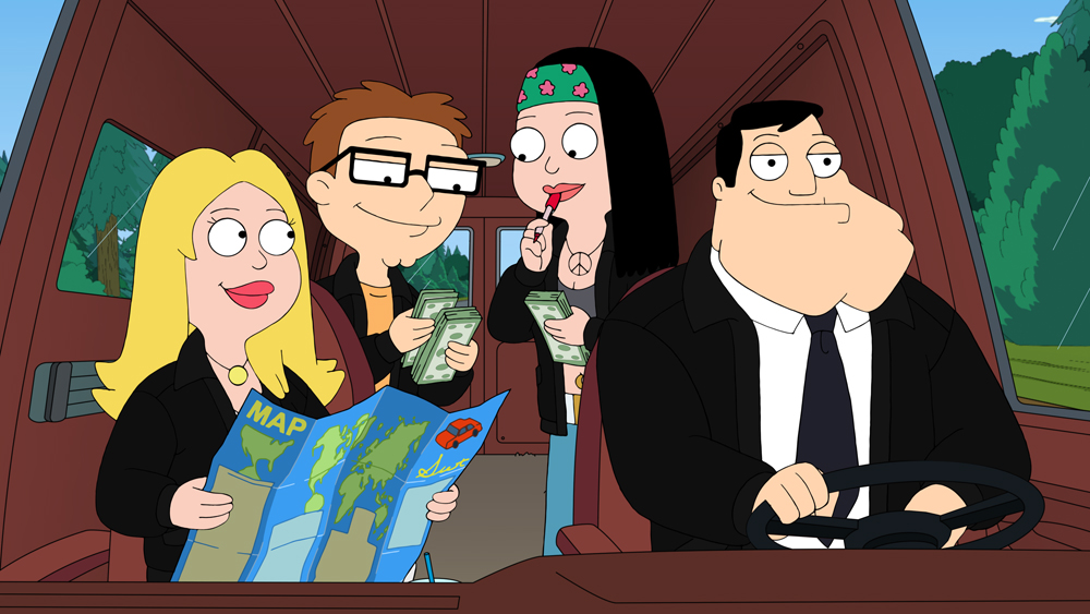 which american dad character are you