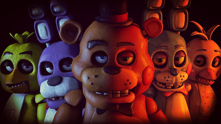 which fnaf character are you