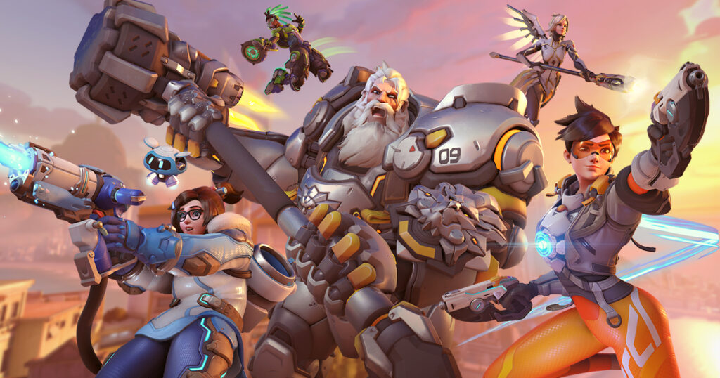 which overwatch character are you