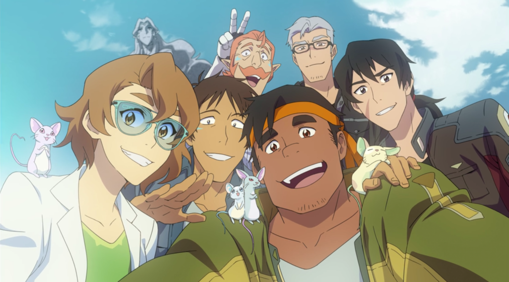 which voltron character are you